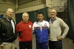Doug Rogers '64 Olympic gold, sensei boas, Sato Sensei worl champ, Dave Caufield int. competitor