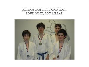 judo- adrian