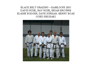 judo- black belts