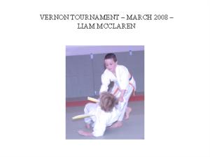 judo - liam macclaren