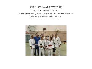 judo- neil adams