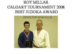 judo - Roy miller