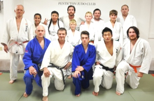 Members of the 2015-16 senior class or the Penticton Judo Club
